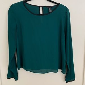 Forever 21 Dark Green blouse